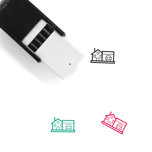 House Self-Inking Rubber Stamp No. 421