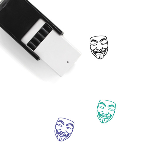 Guy Fawkes Self-Inking Rubber Stamp No. 11