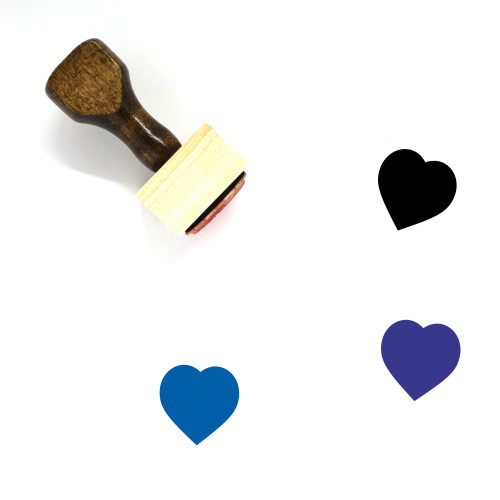 Love Wooden Rubber Stamp No. 672