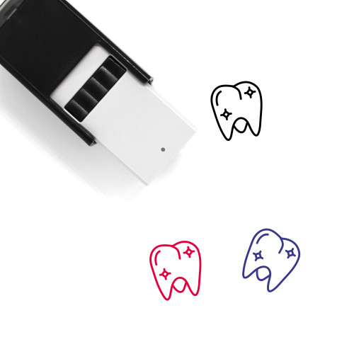 Healthy Molar Self-Inking Rubber Stamp No. 1