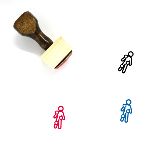 Checkup Wooden Rubber Stamp No. 4