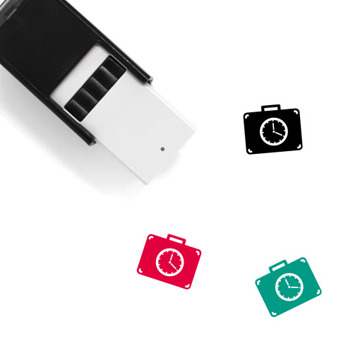Suitcase Self-Inking Rubber Stamp No. 124