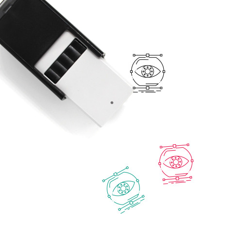 Visualize Self-Inking Rubber Stamp No. 4