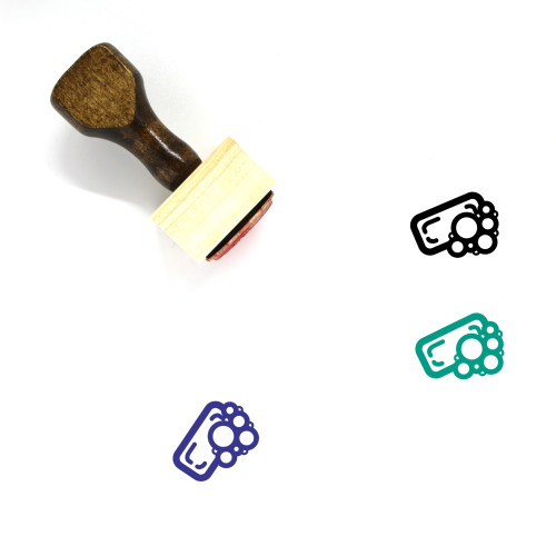 Soap Wooden Rubber Stamp No. 30