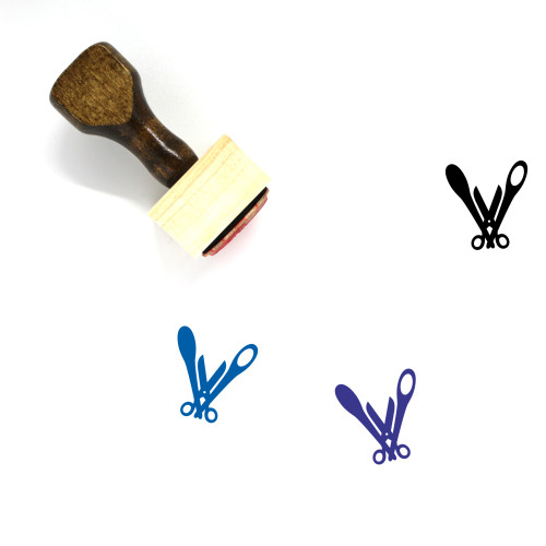 Praxe Wooden Rubber Stamp No. 1