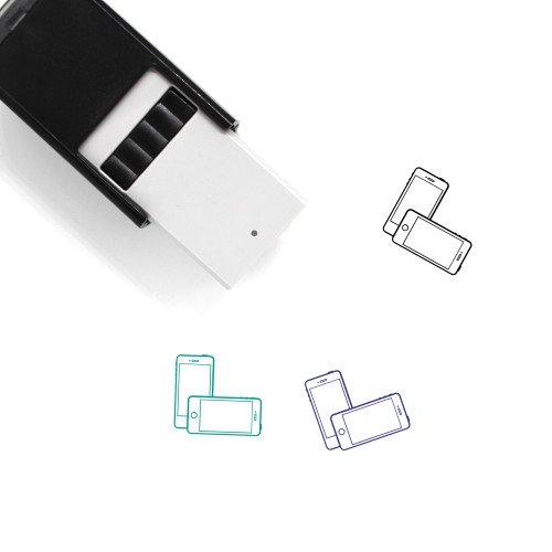 Mobile Self-Inking Rubber Stamp No. 165