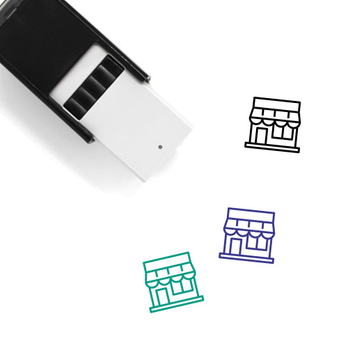 Store Self-Inking Rubber Stamp No. 93