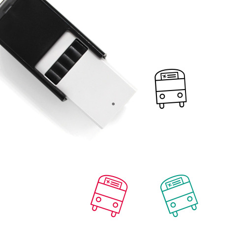 Airport Shuttle Self-Inking Rubber Stamp No. 6