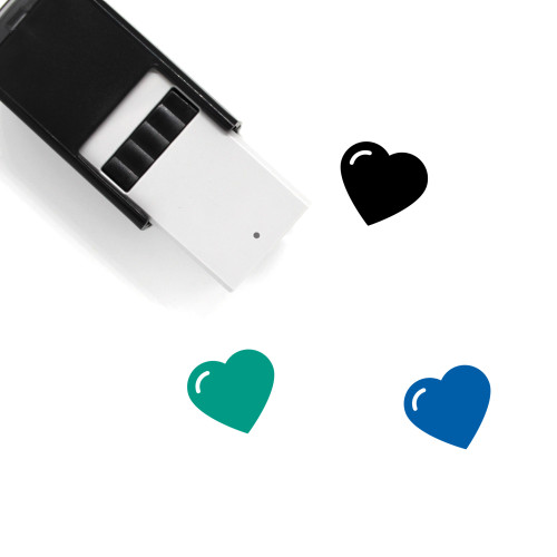 Heart Self-Inking Rubber Stamp No. 1499
