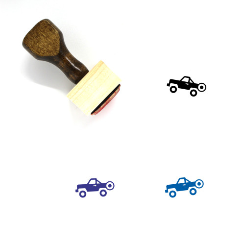 Jeep Wooden Rubber Stamp No. 46