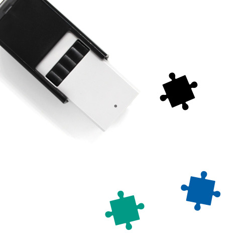 Puzzle Piece Self-Inking Rubber Stamp No. 56