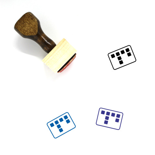 Sticky Session Wooden Rubber Stamp No. 1