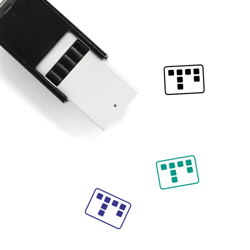 Sticky Session Self-Inking Rubber Stamp No. 1