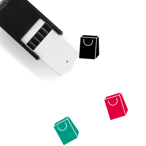 Shopping Bag Self-Inking Rubber Stamp No. 176