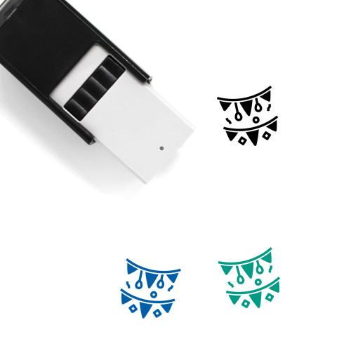 Xmas Self-Inking Rubber Stamp No. 30