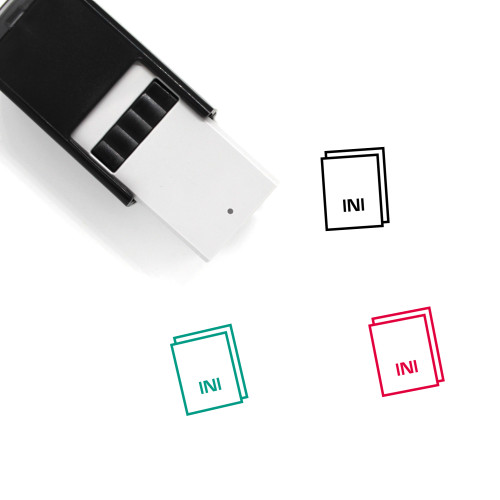 Ini Self-Inking Rubber Stamp No. 37