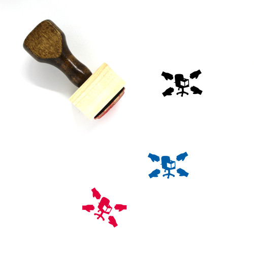 Boss Wooden Rubber Stamp No. 132