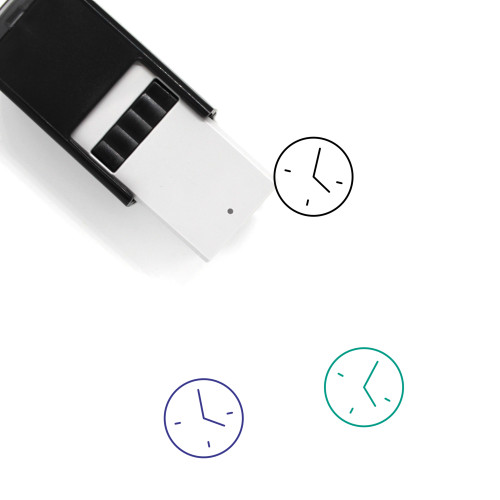 Four O'Clock Self-Inking Rubber Stamp No. 1