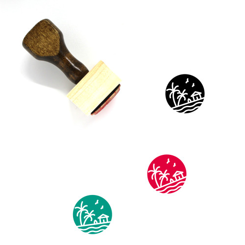 Nature Wooden Rubber Stamp No. 180