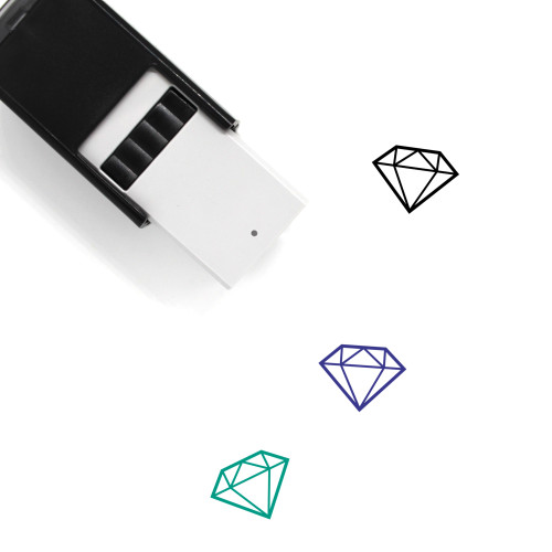 Diamond Self-Inking Rubber Stamp No. 145