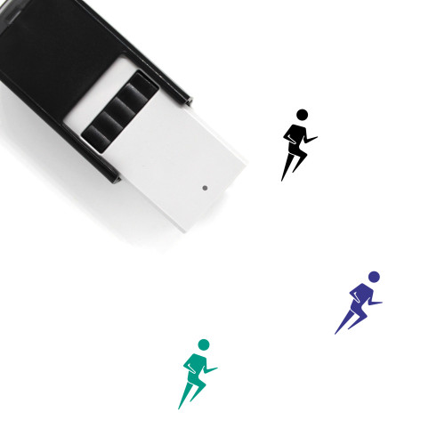 Runner Self-Inking Rubber Stamp No. 29