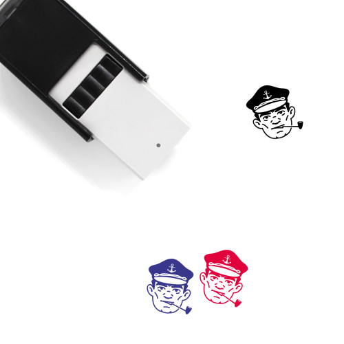 Captain Self-Inking Rubber Stamp No. 23
