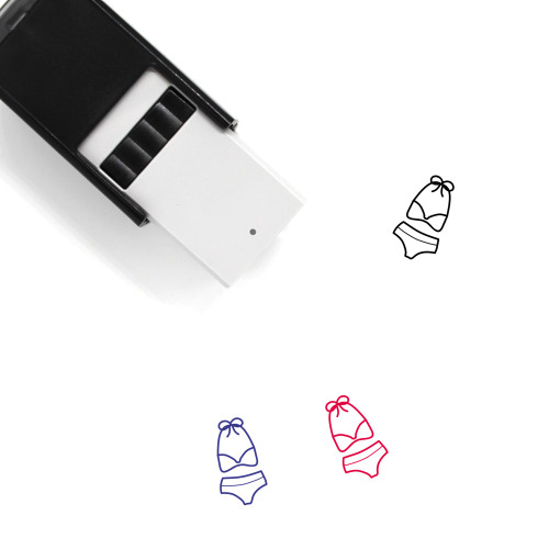 Bikini Self-Inking Rubber Stamp No. 63