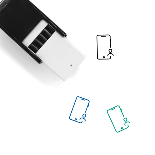 Mobile User Self-Inking Rubber Stamp No. 19