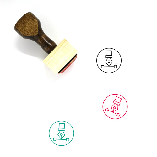 Shape Wooden Rubber Stamp No. 103