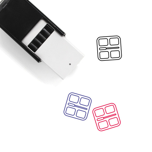 Makeup Self-Inking Rubber Stamp No. 140