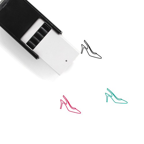 High Heels Self-Inking Rubber Stamp No. 17