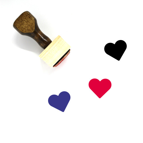 Love Wooden Rubber Stamp No. 675