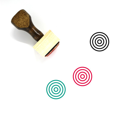 Target Wooden Rubber Stamp No. 218