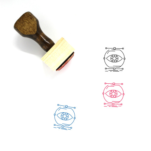 Visualize Wooden Rubber Stamp No. 5