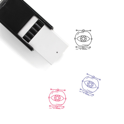 Visualize Self-Inking Rubber Stamp No. 5