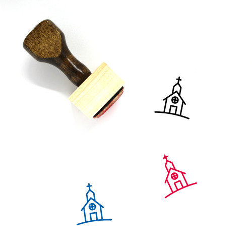 Church Wooden Rubber Stamp No. 219