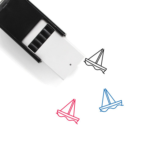 Boat Self-Inking Rubber Stamp No. 95