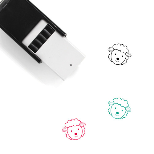 Sheep Self-Inking Rubber Stamp No. 59