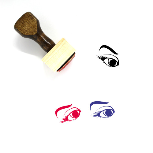 Eye Wooden Rubber Stamp No. 474