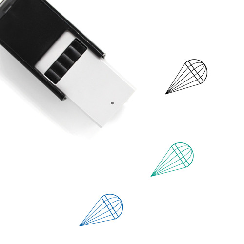 Parachute Self-Inking Rubber Stamp No. 67