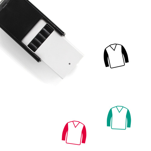 Clothes Self-Inking Rubber Stamp No. 190