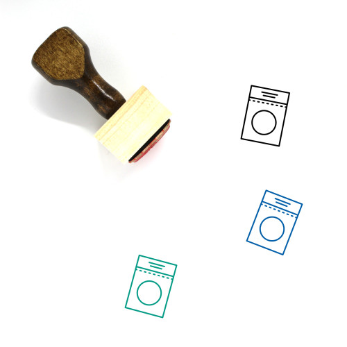 Cereal Wooden Rubber Stamp No. 42