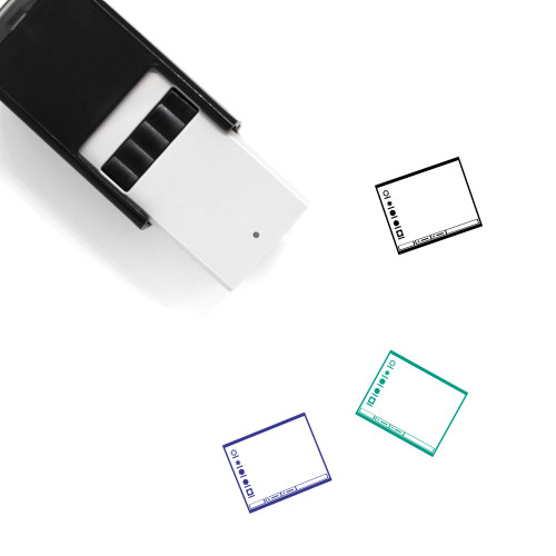 Operating System Layout Self-Inking Rubber Stamp No. 14