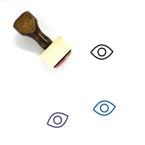 Eye Wooden Rubber Stamp No. 476