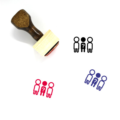 Missing Wooden Rubber Stamp No. 78