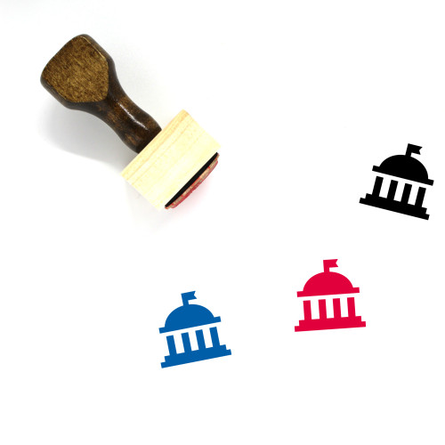 Government Wooden Rubber Stamp No. 119