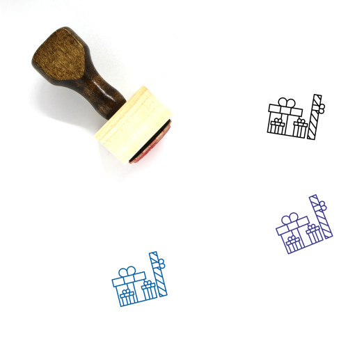 Gifts Wooden Rubber Stamp No. 42