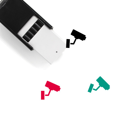 CCTV Self-Inking Rubber Stamp No. 123
