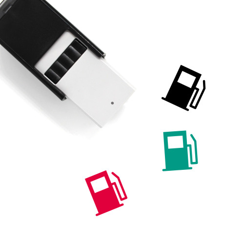 Fuel Pump Self-Inking Rubber Stamp No. 36