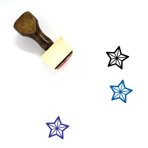 Reward Wooden Rubber Stamp No. 9
